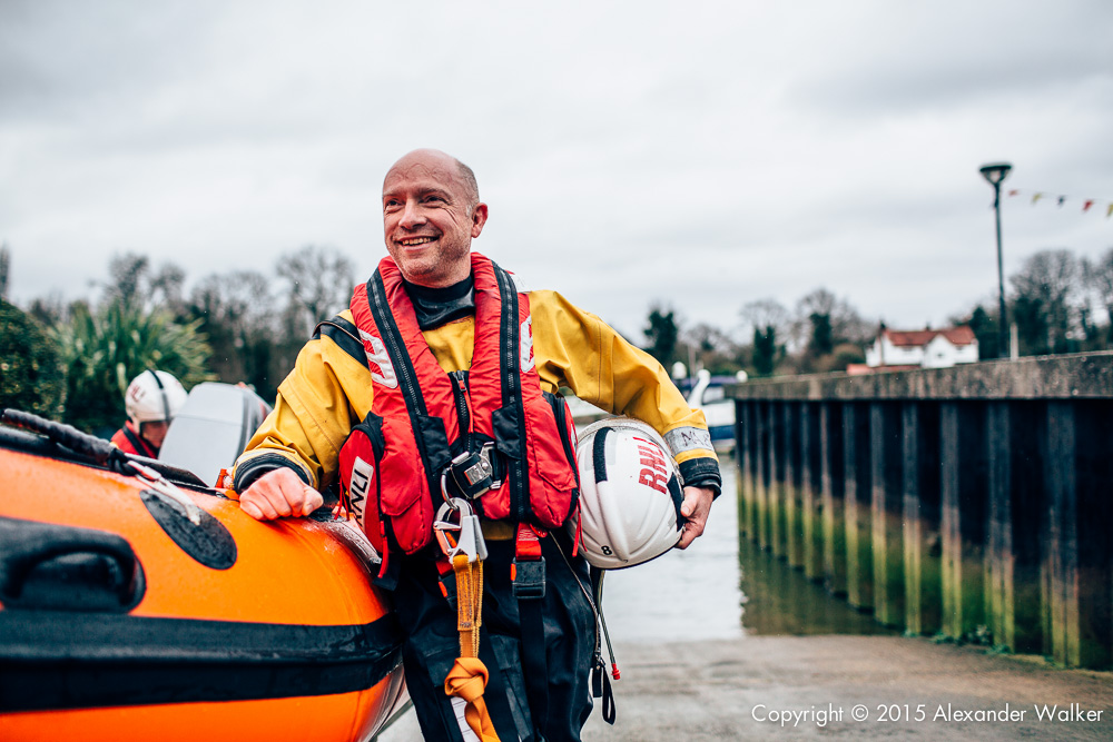 Matt Allchurch, Volunteer Crew at Teddington Lifeboat Station RNLI.