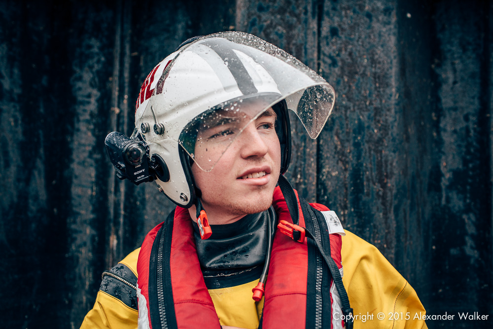 Harry Eaton, Volunteer Crew at Teddington Lifeboat Station RNLI.