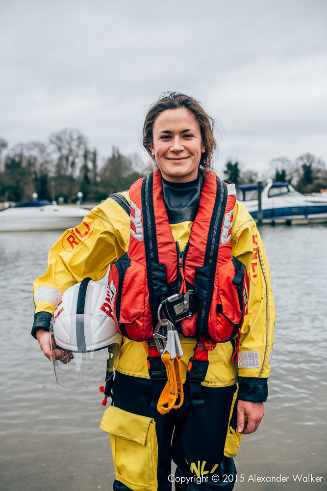 Manon Jones, Volunteer Crew at Teddington Lifeboat Station RNLI.