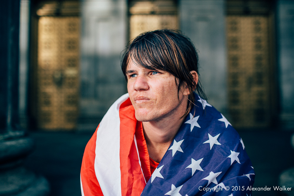 Bella Black from Team USA. The Homeless World Cup is a unique, pioneering social movement which uses football to inspire homeless people to change their own lives. Homeless World Cup 2016 is taking place in Glasgow's George Square from July 10th to July 16th. For more information, visit www.homelessworldcup.com