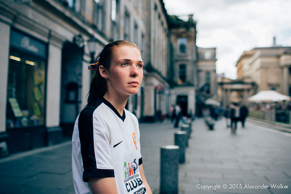 Angel O'Dwyer from Team England. The Homeless World Cup is a unique, pioneering social movement which uses football to inspire homeless people to change their own lives. Homeless World Cup 2016 is taking place in Glasgow's George Square from July 10th to July 16th. For more information, visit www.homelessworldcup.com