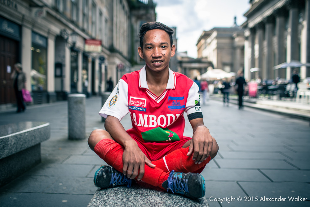 The Homeless World Cup is a unique, pioneering social movement which uses football to inspire homeless people to change their own lives. Homeless World Cup 2016 is taking place in Glasgow's George Square from July 10th to July 16th. For more information, visit www.homelessworldcup.com