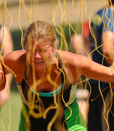 As you can see on my face, the electric shock was not my favorite. At least it was the last obstacle. It was just a really weird feeling since you could feel it throughout your entire body.