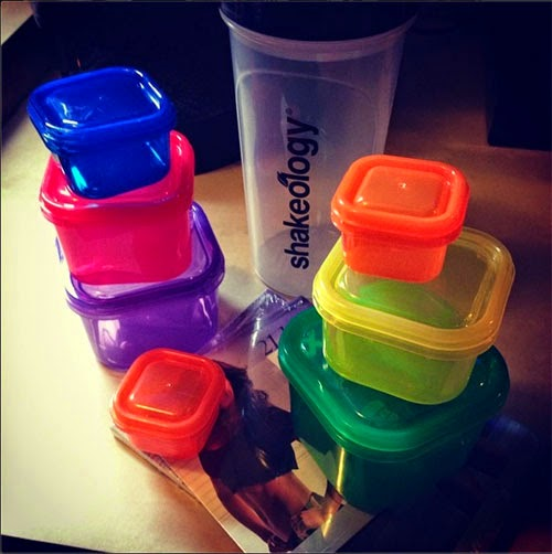 shakeology containers nutrition
