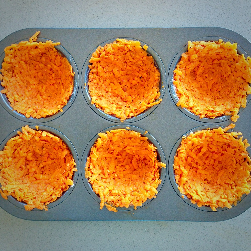 Create Nests  Bake then add eggs