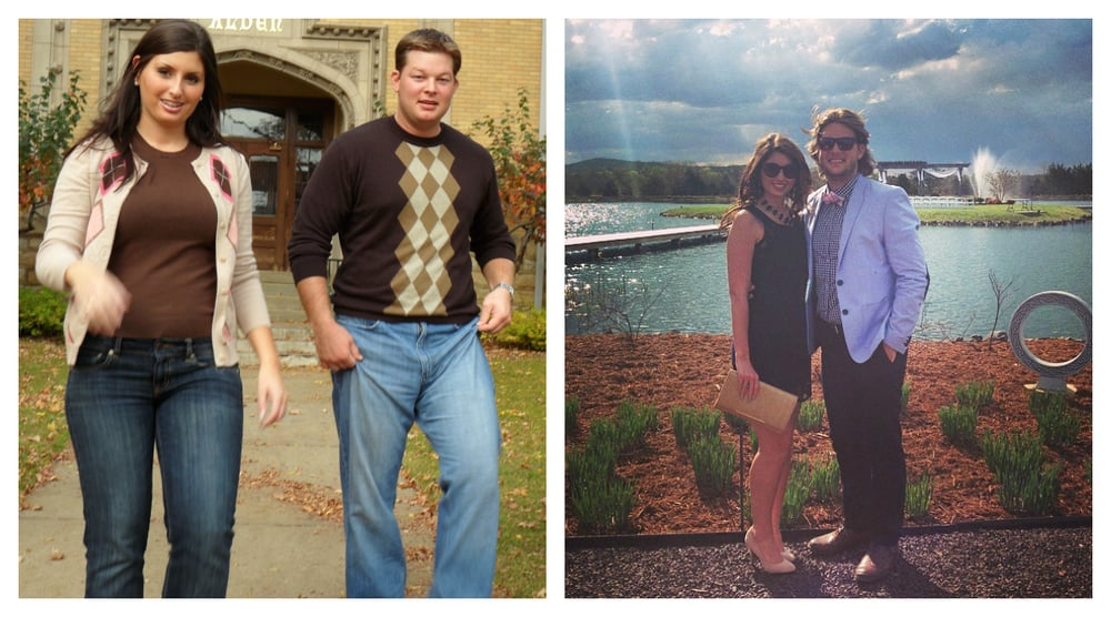 My husband and I each lost 60 lbs