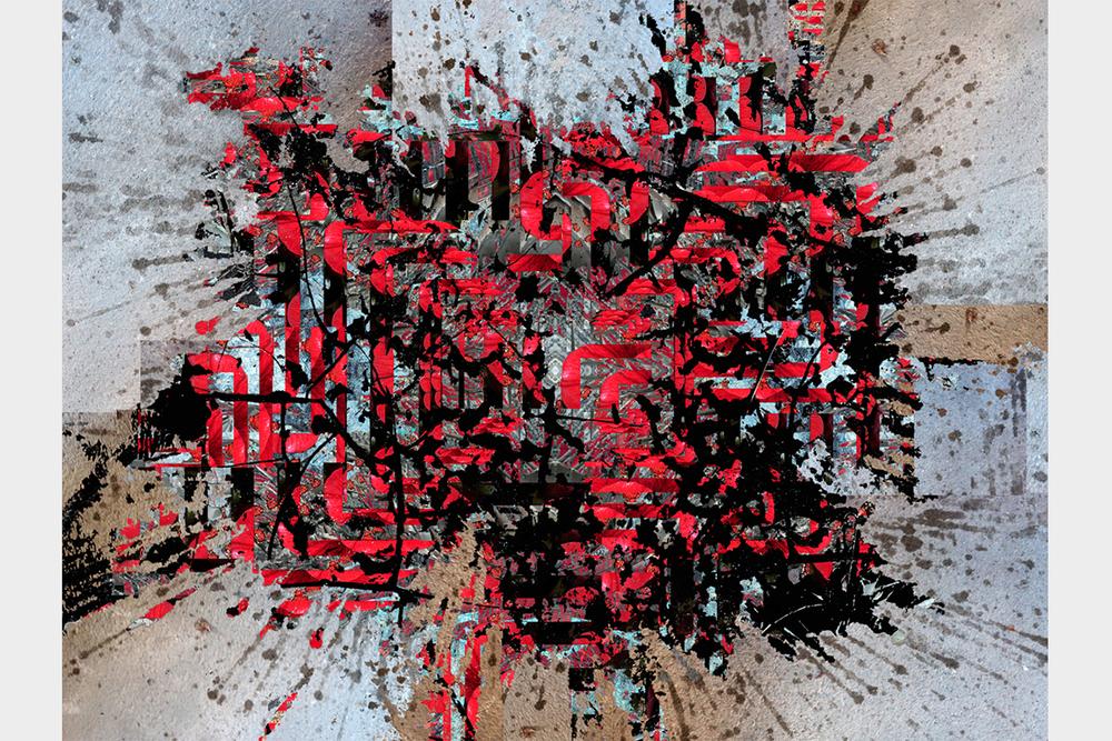 """""""Beer & Roses"""" - 102 cm x 135 cm"""