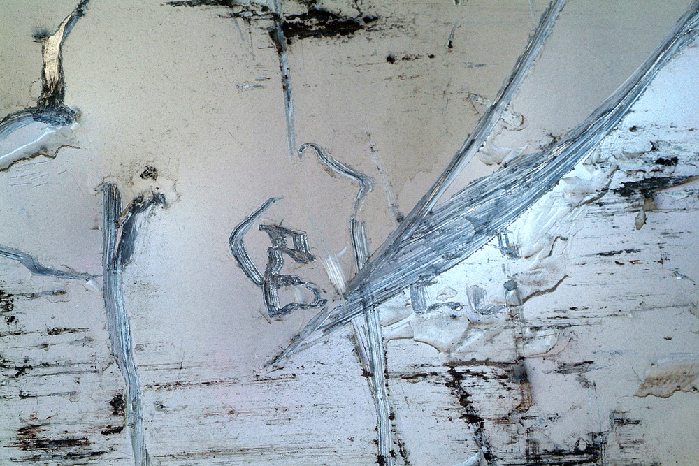 Playing with monkeys on a knife-edge - 80 cm x 120 cm