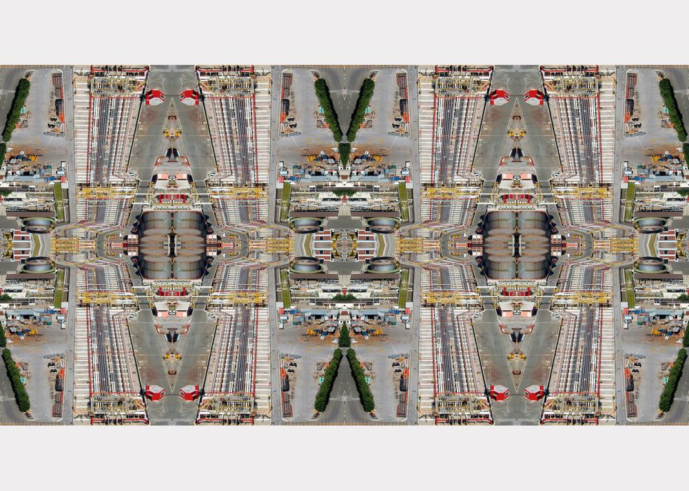 """Toy Town"" - 78 cm x 150 cm"