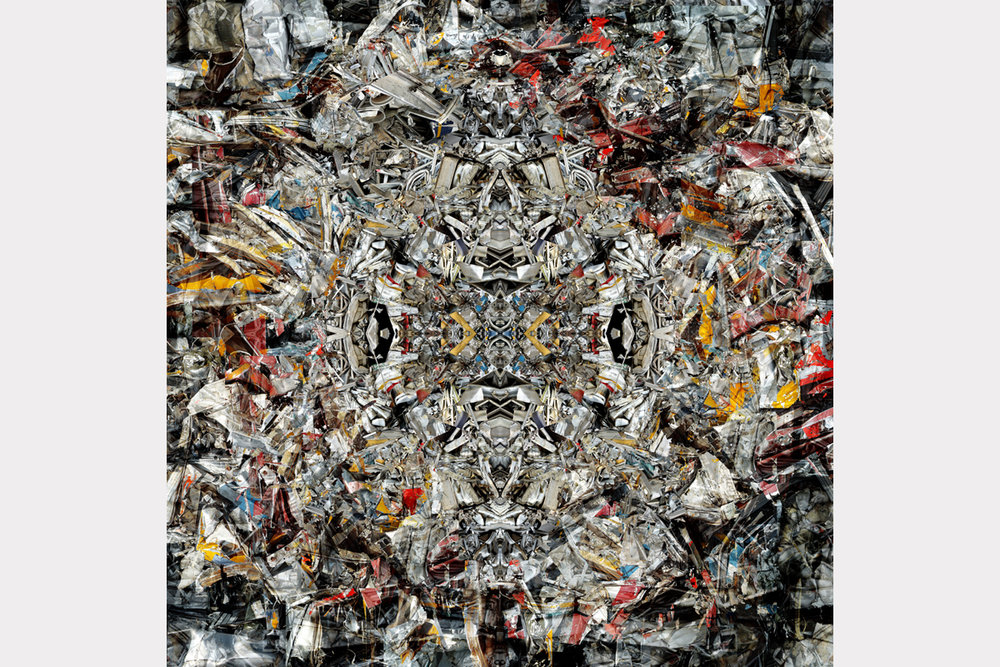 """New order from old chaos"" - 100 cm x 100 cm"