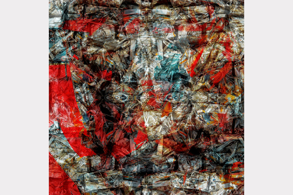 """""""Prophecy"""" - 100 cm x 100 cm"""