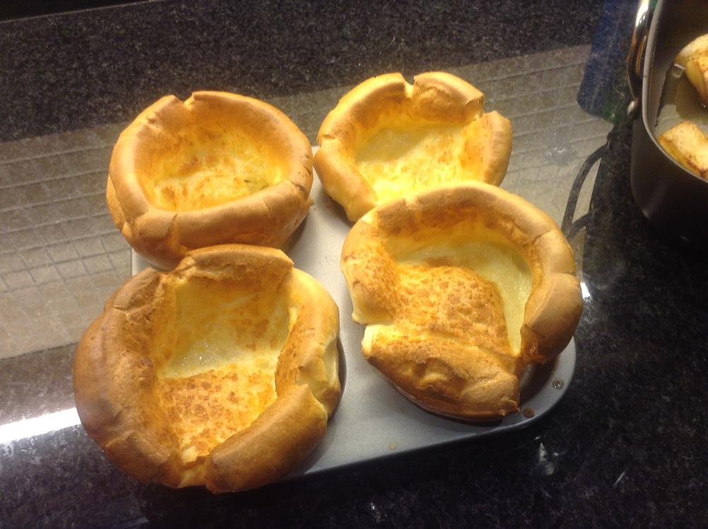 4 crunchy Yorkshire puddings- just right for the family.
