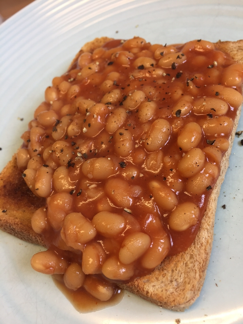 Beans on toast- classic!