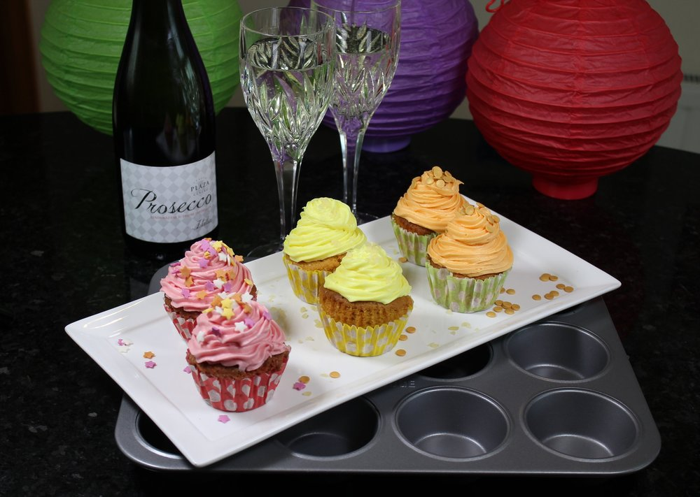 Like cheese and wine - Cupcakes and parties