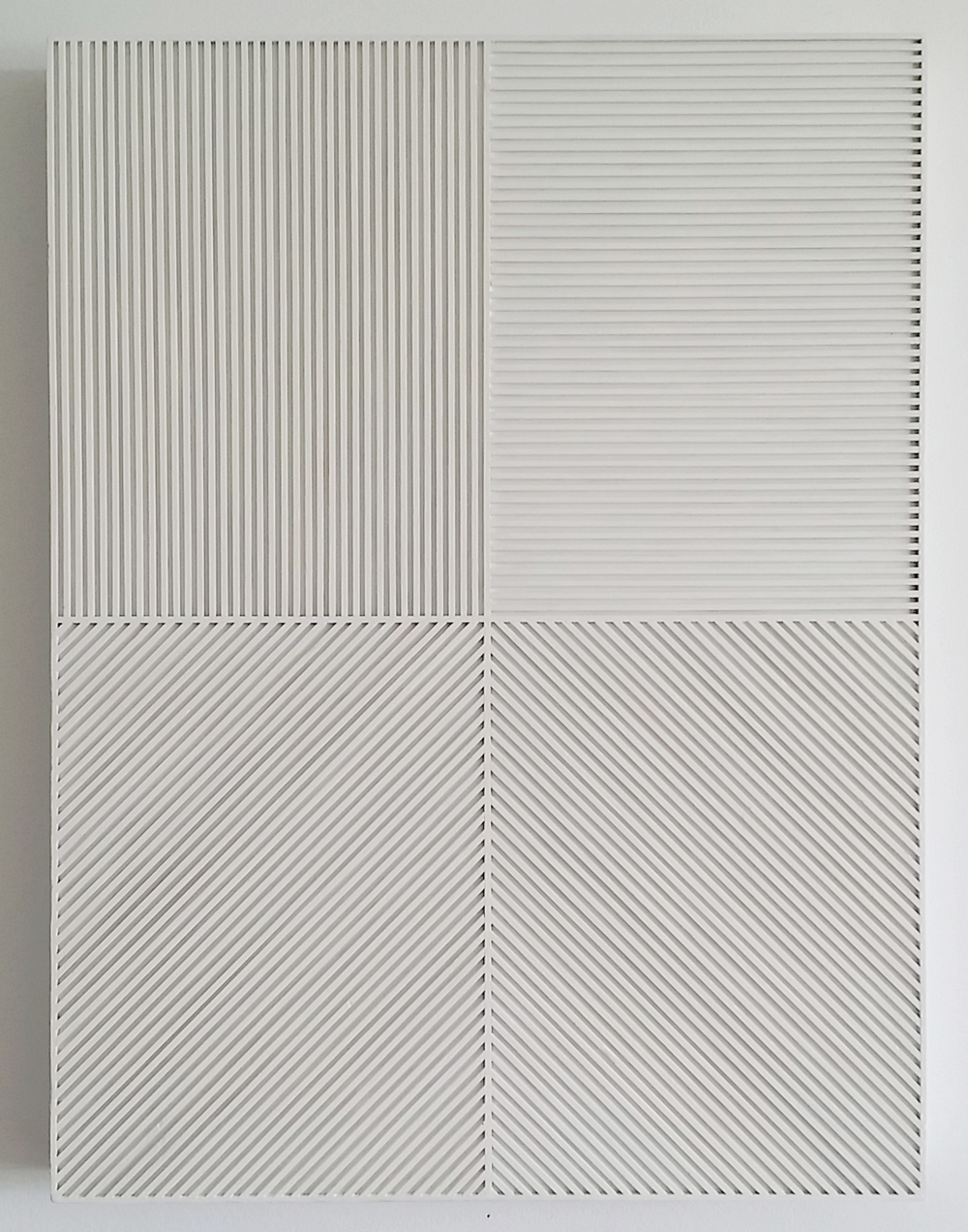 Sol LeWitt Lines in Four Direction