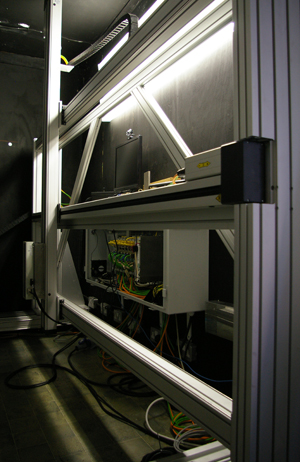 The AA&R scanner system.
