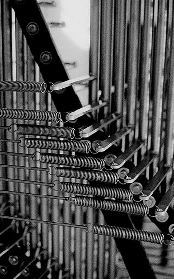 The Back of the Carillon - Oakland University, Rochester, MI