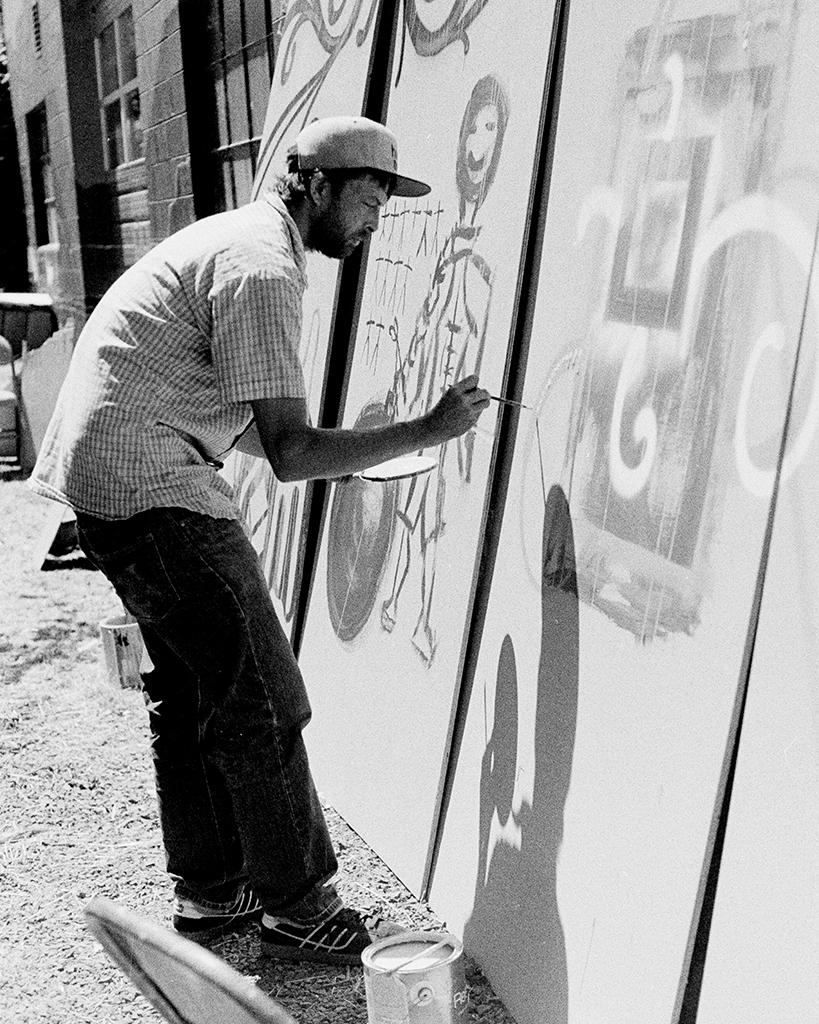 Street Artist: Alberta Street Fair - Portland, Oregon