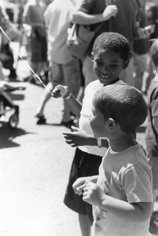 Kids at Alberta Street Fair - Portland, Oregon