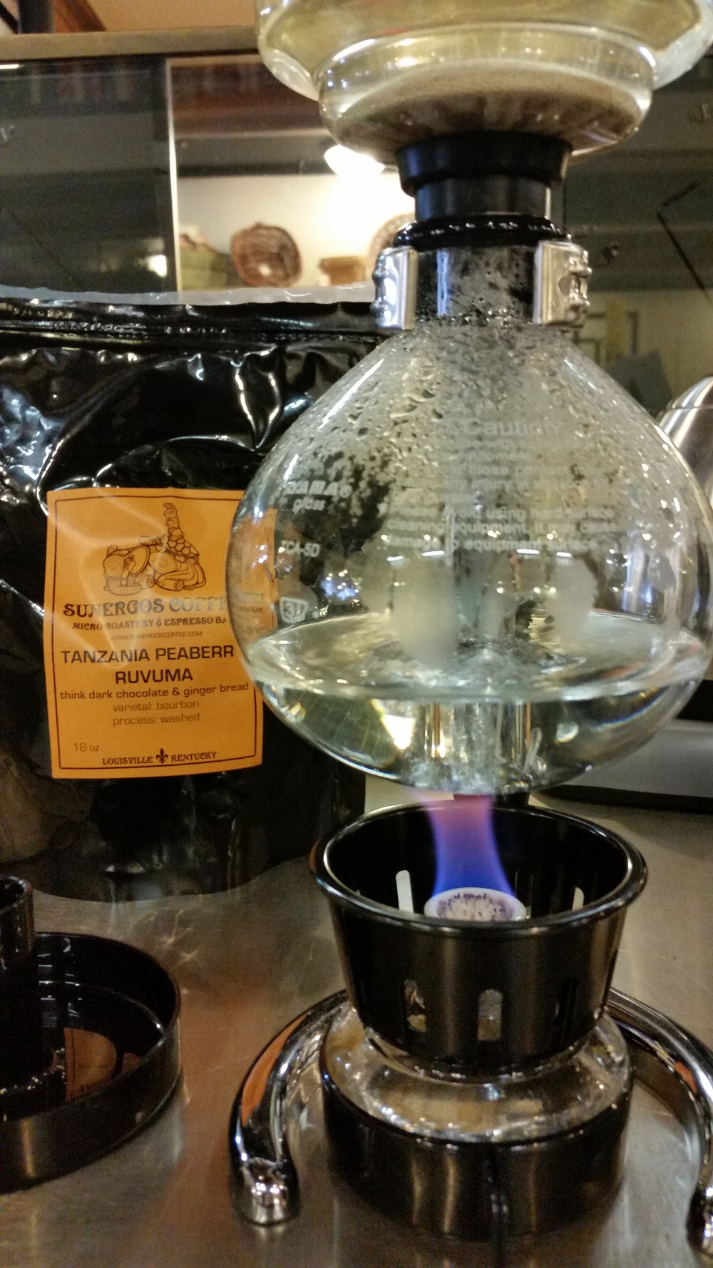 Tanzania Peaberry Siphon