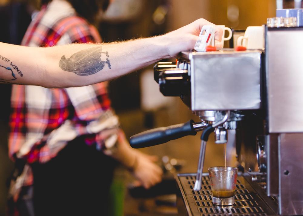 Makin Coffee