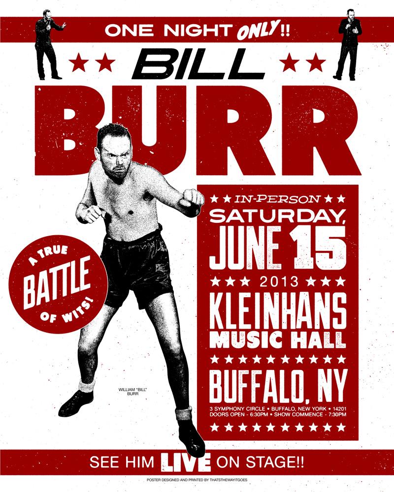 Bill Burr - Buffalo, NY