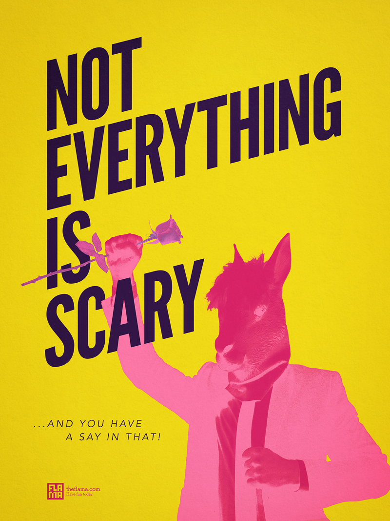 Not Everything Is Scary