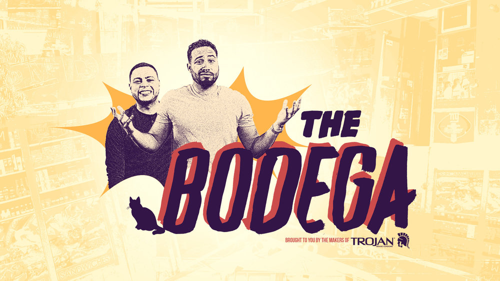 The Bodega Identity and title sequence for comedic web series about corner-store employees.