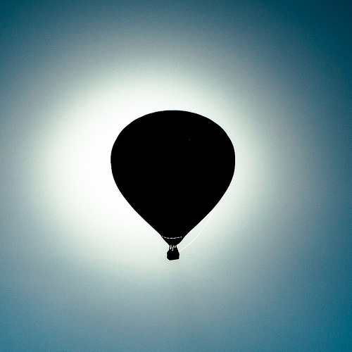 Balloon eclipse  by Steve Grosbois. Some rights reserved.This work is licensed under a CC BY-SA 2.0 license.