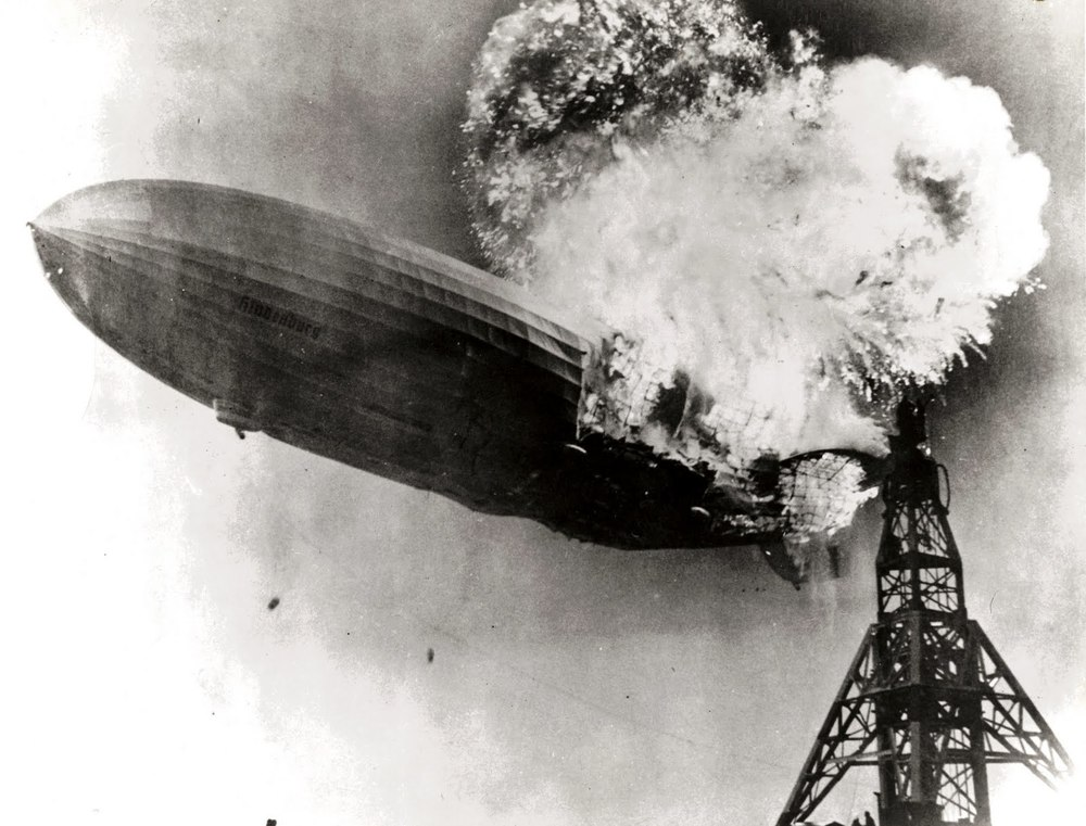 Hindenburgburning. This image is in the public domain.