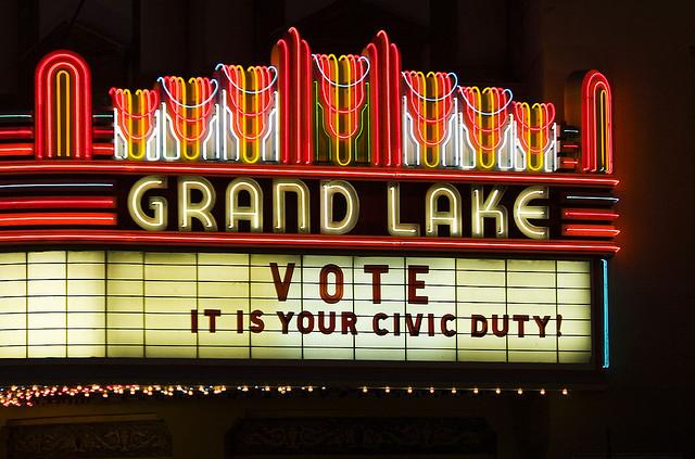 Vote, It's Your Civic Duty   Image Credit:  Thomas Hawk