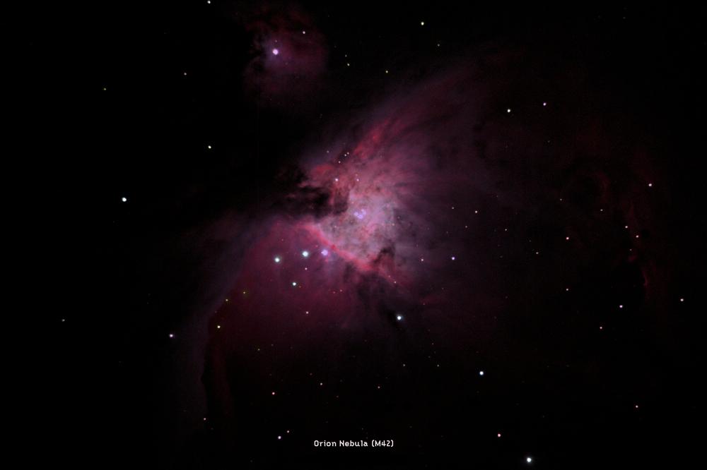 Image Credit: Adam Brown, The Orion Nebula