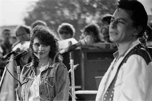 Joe and Linda Rondstadt