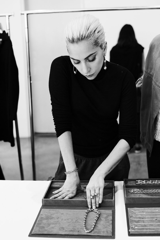 Lady Gaga for Tiffany HardWare.