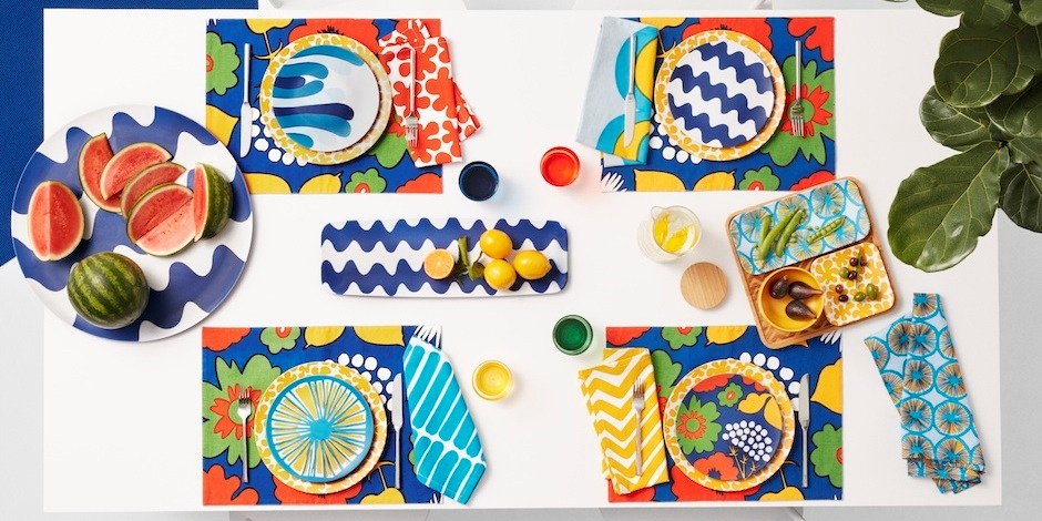 Items from Marimekko's home collection