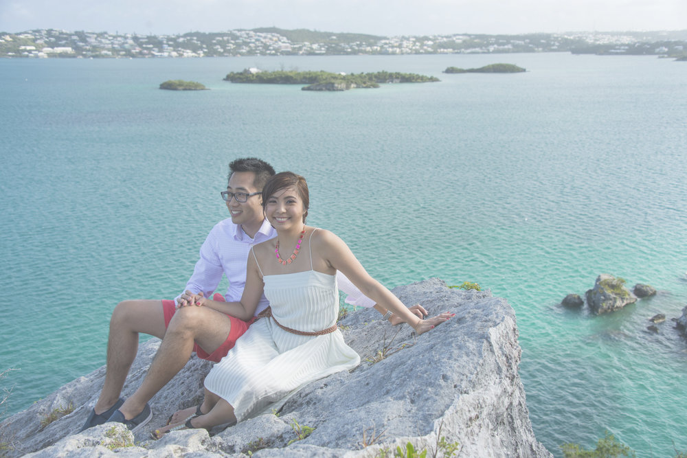 Peggy & Mark - Harrington Sound, Bermuda