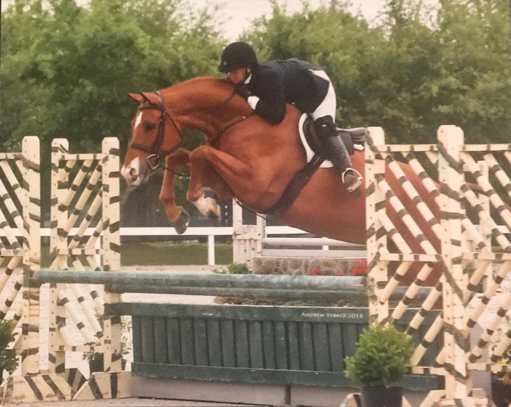Fairlife and Jennifer Alfano at the 2018 Pin Oak Charity Horse Show
