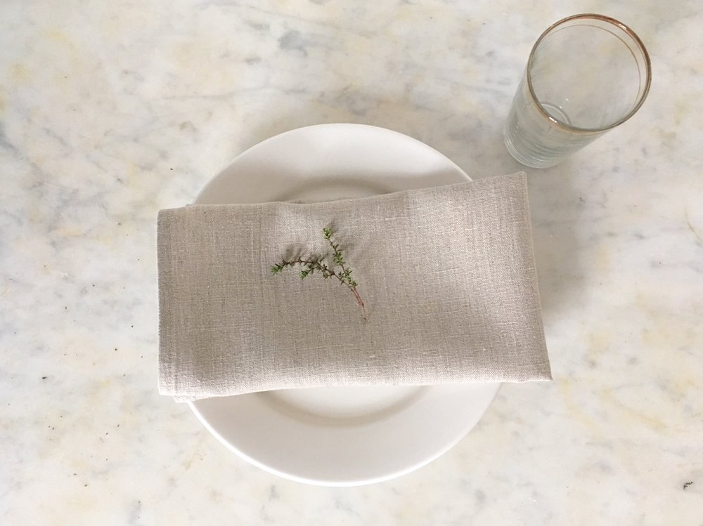 Linen rentals for the sustainably minded
