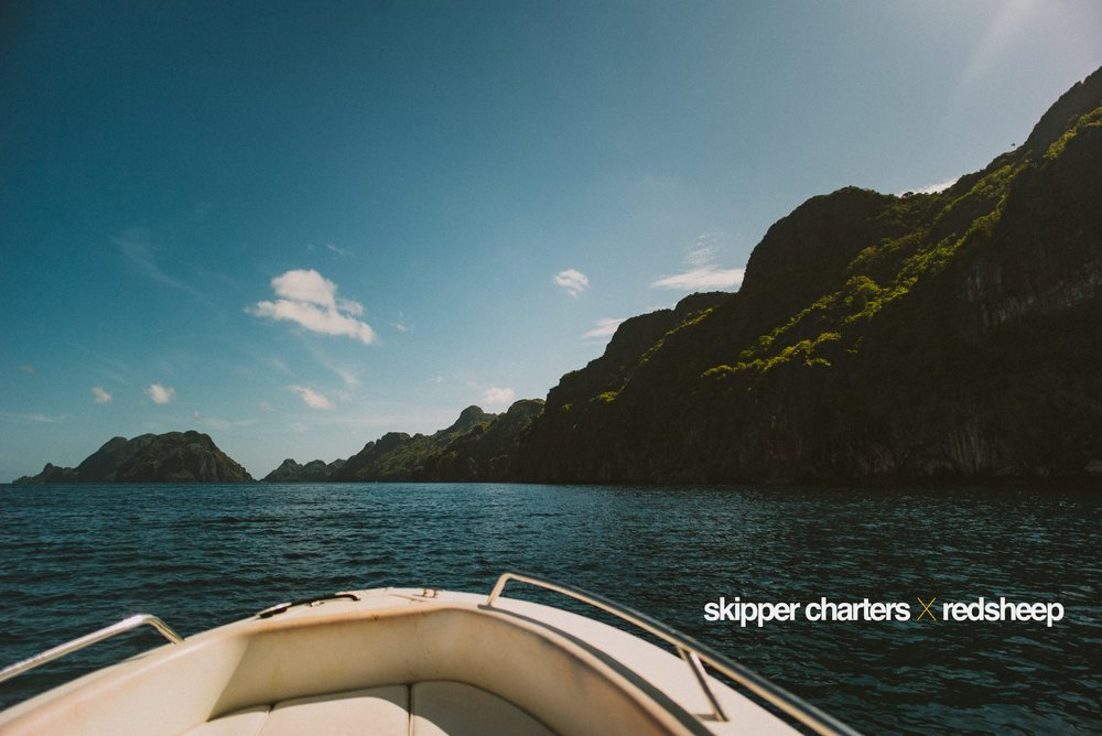 May 16, 2017.  What was perhaps the best way to end last week's shoot-a-thon in El Nido: on a slick, luxury speed boat, darting through Bacuit Bay's waters at 80 knots, going where we wanted to go, doing what we wanted to do. Thank you Skipper Charters for this private tour! (Hey Monica, Montri & Begs!)