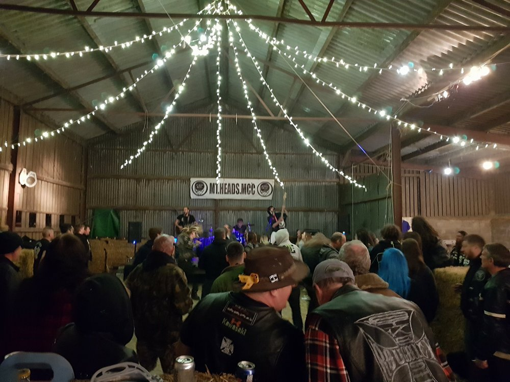 Rockin' the barn in the Lakes!