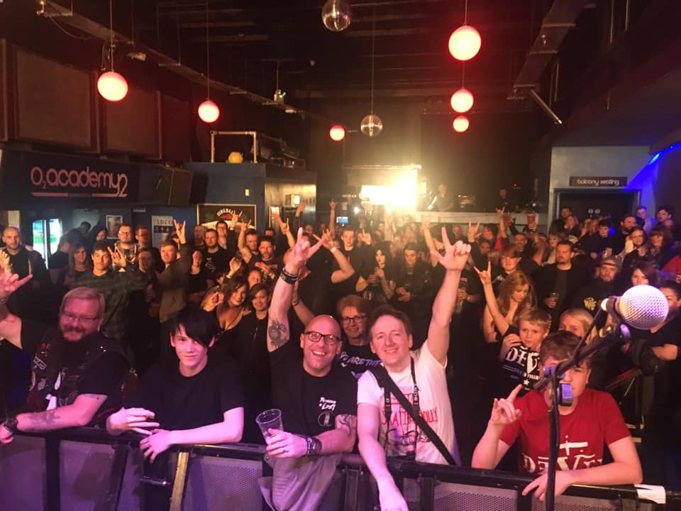 Audience shot at 02!