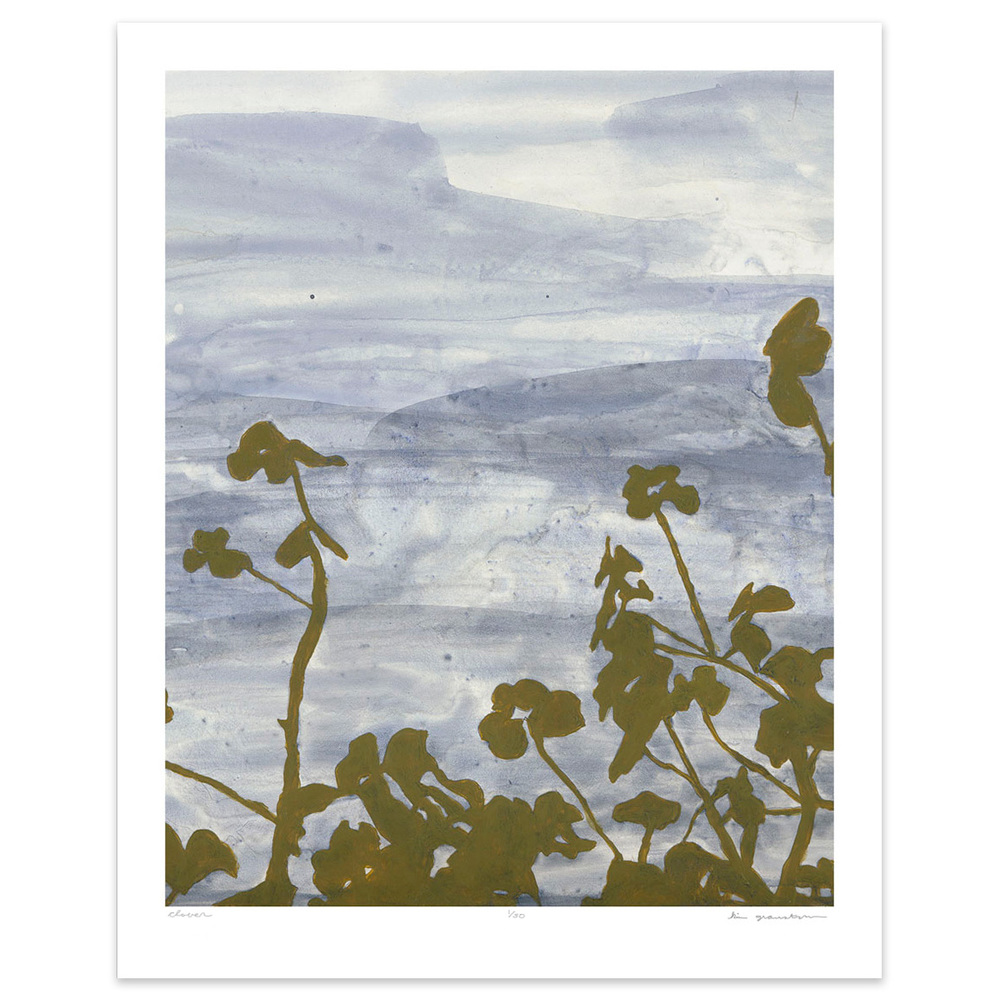 Clover - 8x10 botanical print