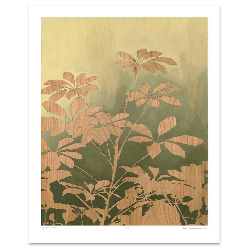 Life Forms No. 3 - 8 x 10 botanical print
