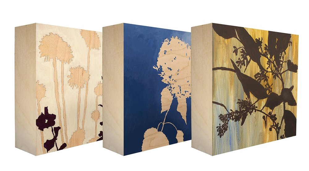 Botanical Panels by Kim Granstrom