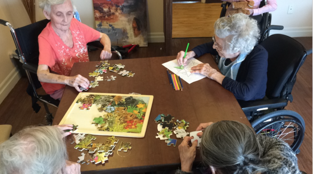 Activities Ottawa Assisted Living Retirement Home stroke rehab
