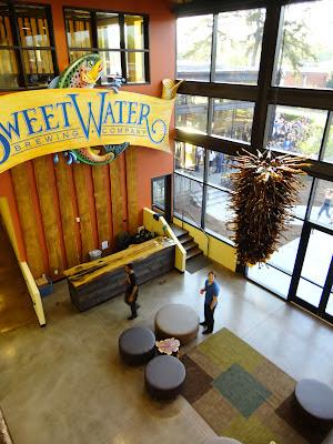 SweetWater Brewery entry.JPG