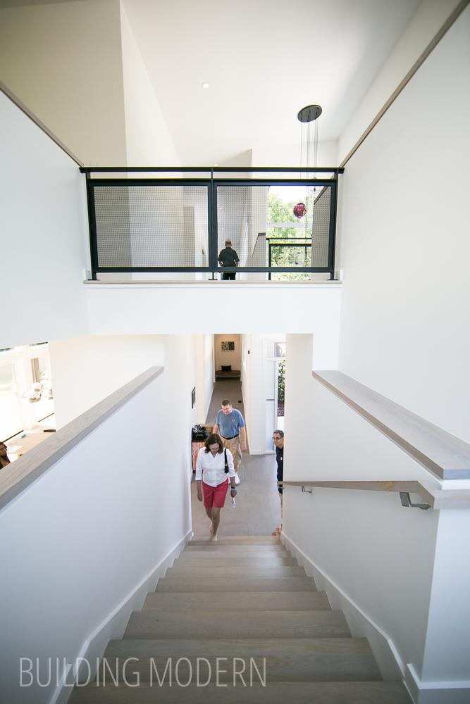 Stair , rail custom design by TaC studios