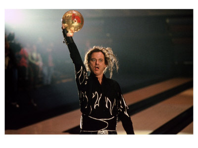 """It all comes down to this roll. Roy Munson, a man-child, with a dream to topple bowling giant Ernie McCracken. If he strikes, he's the 1979 Odor-Eaters Champion. He's got one foot in the frying pan and one in the pressure cooker. Believe me, as a bowler, I know that right about now, your bladder feels like an overstuffed vacuum cleaner bag and your butt is kinda like an about-to-explode bratwurst."""
