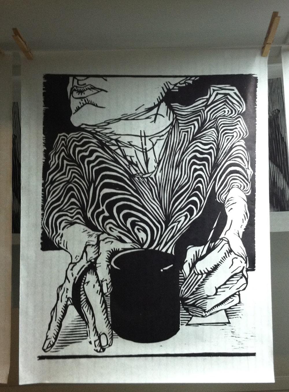 "Final Print of ""Arabica"""