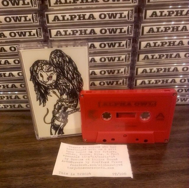 Finished cassette for Tor Johnson Records.